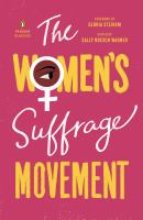 The women's suffrage movement 1